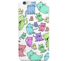 catto ghost party iPhone Case/Skin