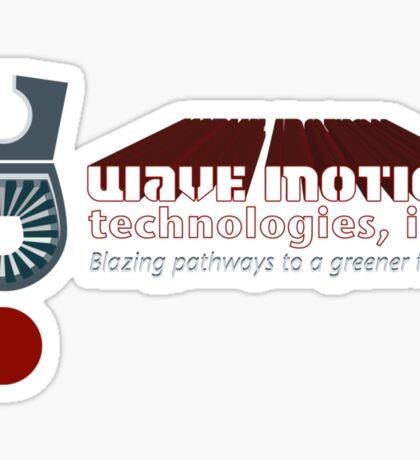 Star Blazers: Wave Motion Technologies Sticker