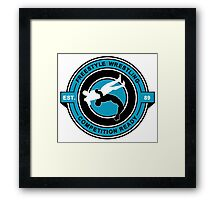 Freestyle Wrestling Competition Ready Suplex Blue  Framed Print