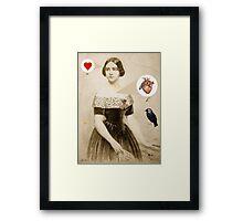 anatomy of love Framed Print
