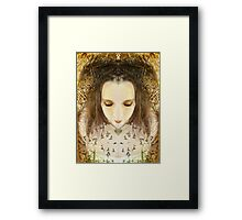 Light renews the soul Framed Print