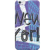 New York menthol midnight iPhone Case/Skin