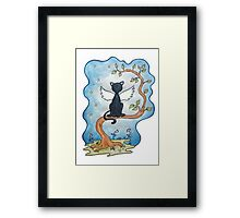 The guardian (in memory of Tuss 1993-2012) Framed Print
