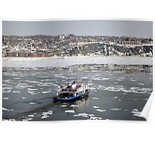 Transportation: Ferry boat. Poster
