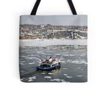 Transportation: Ferry boat. Tote Bag
