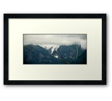 Cool Cloudy Morning Framed Print