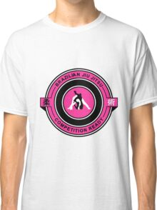 Brazilian Jiu Jitsu Competition Ready Triangle Choke Pink  Classic T-Shirt