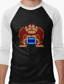 Pixel Kong Men's Baseball ¾ T-Shirt
