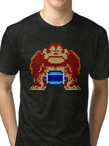 Pixel Kong Tri-blend T-Shirt