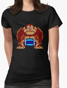 Pixel Kong Womens Fitted T-Shirt