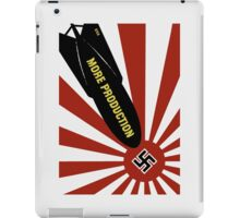 More Production -- World War Two Poster iPad Case/Skin