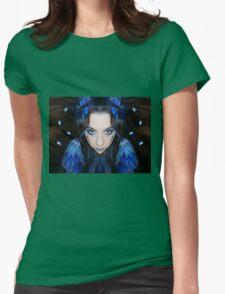 Dream myself awake Womens Fitted T-Shirt