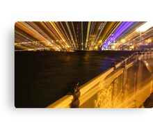 Brighton Rainbow Canvas Print