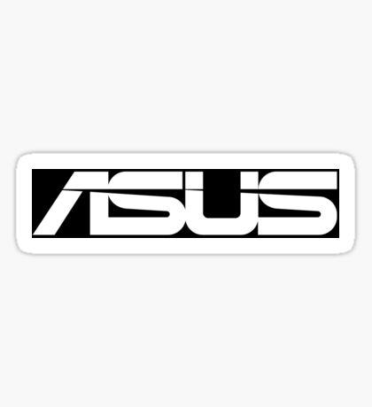 Asus Logo Black/White Sticker