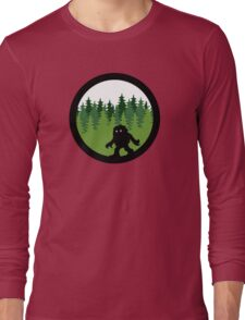 Sasquatch By Day - Noirgraphic Original Long Sleeve T-Shirt