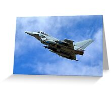 Eurofighter Typhoon IPA5 ZJ700 Greeting Card