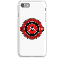 Brazilian Jiu Jitsu Competition Ready Triangle Choke Red  iPhone Case/Skin