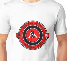 Brazilian Jiu Jitsu Competition Ready Triangle Choke Red  Unisex T-Shirt