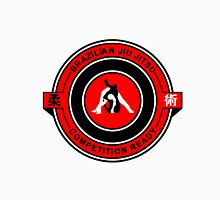 Brazilian Jiu Jitsu Competition Ready Triangle Choke Red  Unisex T-Shirt