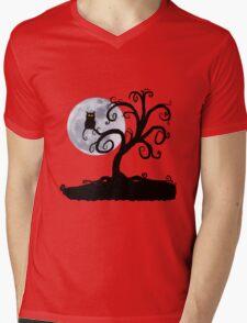 Halloween Tree Mens V-Neck T-Shirt
