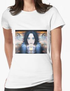 Inside looking out Womens Fitted T-Shirt