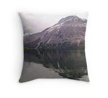 Middle Waterton Lake Throw Pillow