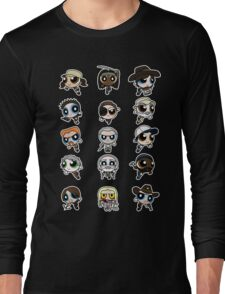 The Walking Dead Puffs Parody Long Sleeve T-Shirt