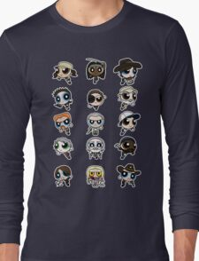 The Walking Dead Puffs Parody Long Sleeve T-Shirt