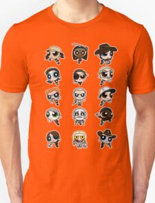 The Walking Dead Puffs Parody Unisex T-Shirt
