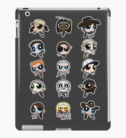 The Walking Dead Puffs Parody iPad Case/Skin