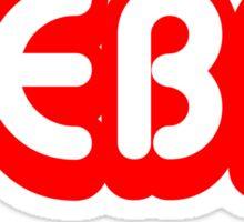 Reba (red) Sticker