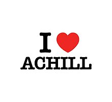 I Love ACHILL by meunice