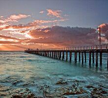 Point Lonsdale Pier @ Sunrise by Krishna Gopalakrishna