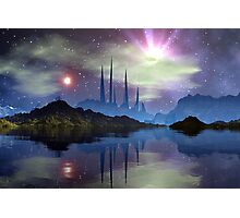 Temple Of The Twin Suns Photographic Print