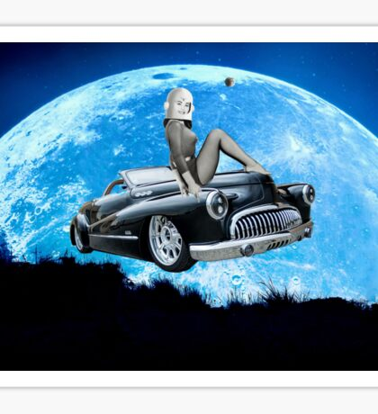 Miss Space Cadet 1956 Sticker