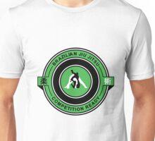 Brazilian Jiu Jitsu Competition Ready Triangle Choke Green  Unisex T-Shirt