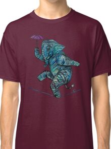 Elephant on Tightrope.   Classic T-Shirt