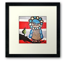 Amy Redmond - Owl Framed Print