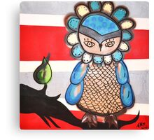 Amy Redmond - Owl Canvas Print