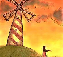 The windmill by Octavio Velazquez