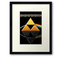 Dark Side of the Triforce Framed Print