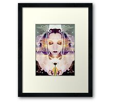 Pollen from the Light Flower Framed Print