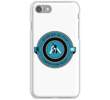 Brazilian Jiu Jitsu Competition Ready Triangle Choke Blue iPhone Case/Skin