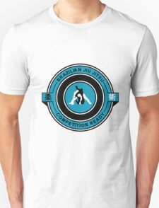 Brazilian Jiu Jitsu Competition Ready Triangle Choke Blue Unisex T-Shirt