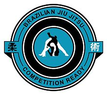 Brazilian Jiu Jitsu Competition Ready Triangle Choke Blue by yin888