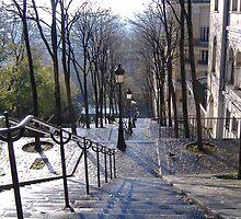 Autumn day in  Paris by flowerbilia