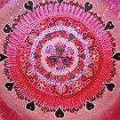 Mandala :  Pretty in Pink  by danita clark