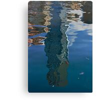Eureka Tower, reflected Canvas Print