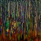Fire in the Birch Wood by George Hunter