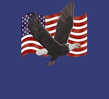 American Bald Eagle Flag  Unisex T-Shirt